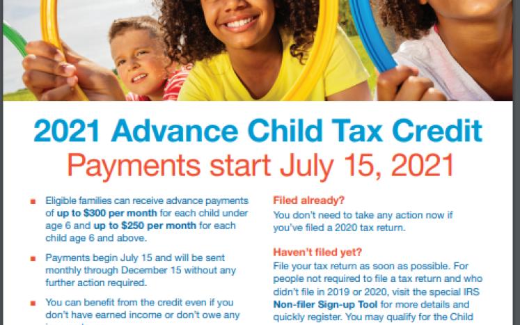 IRS.gov Child Tax Credit Flyer