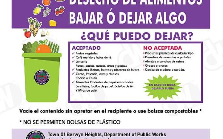 Compost program announcement