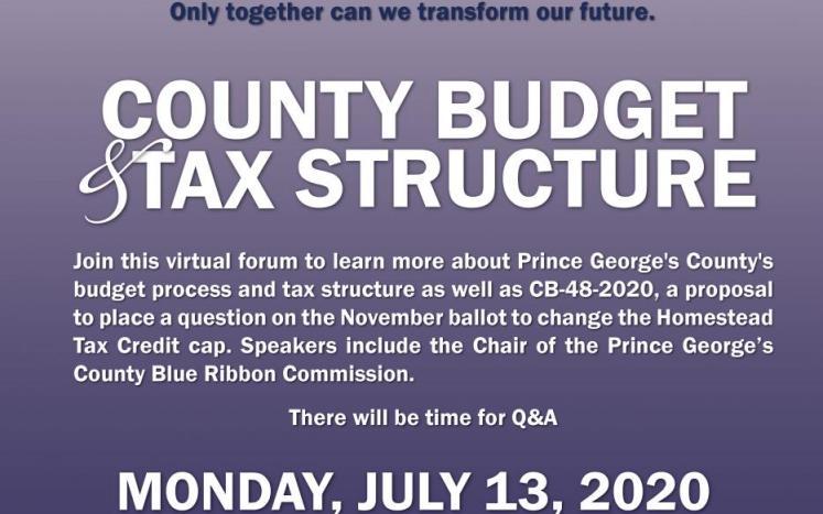 Glaros forum tax structure flyer