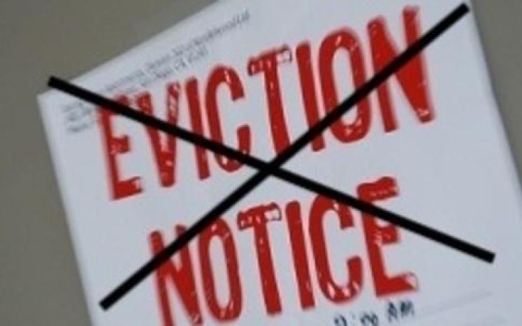 no eviction