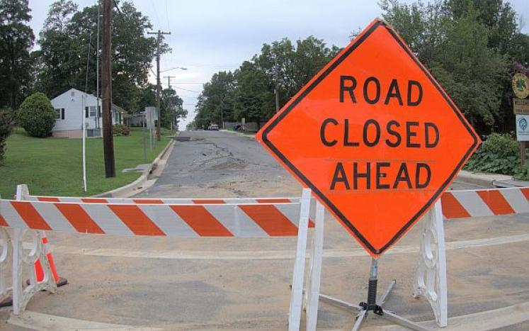 Pontiac road closure